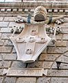 Palazzo piccolomini, siena, 02 stemma piccolomini pio II.jpg