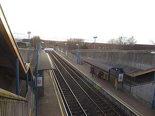 Palmersville Metro station Tyne and Wear Metro station in North Tyneside