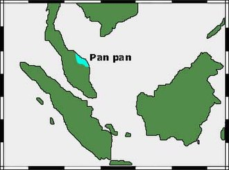 Pan Pan (kingdom) - Approximate location of Pan Pan.