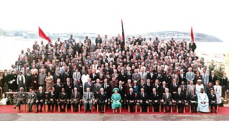 Commonwealth Parliamentary Association - CPA conference, Isle of Man, October 1984