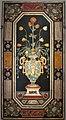 Pannello con vaso di fiori dall'opificio delle pietre dure, 1600-50 ca., 01.JPG
