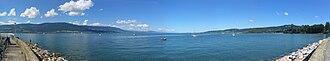 Lake Neuchâtel - Panorama of Lake Neuchâtel