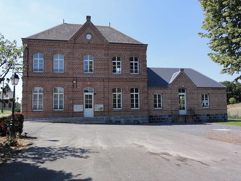 Papleux (Aisne, Fr) mairie