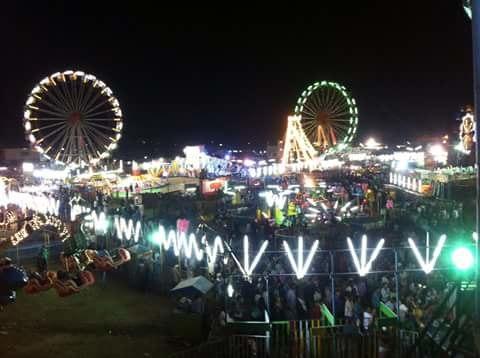 Parbhani dargah festival at night