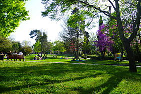 Parc jourdan wikip dia for Le jardin des 5 sens aix en provence