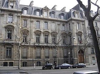 Jean-François Cail - Paris townhouse of Jean-François Cail, today  Mairie du 8ieme arrondissement.