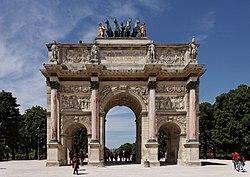 Parigi - Jardin des Tuileries - Arco di Trionfo du Carrousel - PA00085992 - 003.jpg