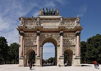 Arc de Triomphe du Carrousel - The Arc de Triomphe du Carrousel