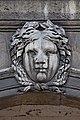 Paris - Les Invalides - Façade nord - Mascarons - 038.jpg