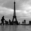 Paris Parvis des Droits de l'homme 20081225 Eiffel Tower (01).jpg