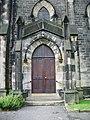 Parish Church of Hebden Bridge, St James the Great, Doorway - geograph.org.uk - 1011915.jpg