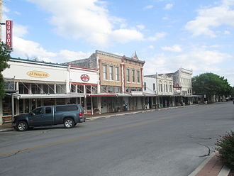 Williamson County, Texas - A part of Courthouse Square in Georgetown