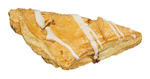 Turnover (food) - A picture of an apple-filled turnover, bought from a diner