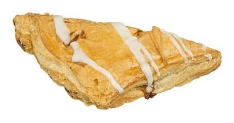 Turnover (food) - An apple-filled turnover