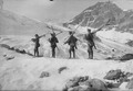 Patrouille auf Skiern - CH-BAR - 3237143.tif