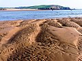 Patterns in the sand, Bigbury on Sea Beach - geograph.org.uk - 971778.jpg