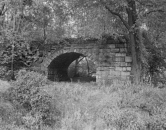 Patterson Viaduct - Patterson Viaduct Ruins, 1970