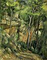 Paul Cézanne - Dans le parc de Château Noir.jpg