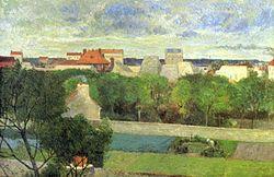 Paul Gauguin: The Market Gardens of Vaugirard