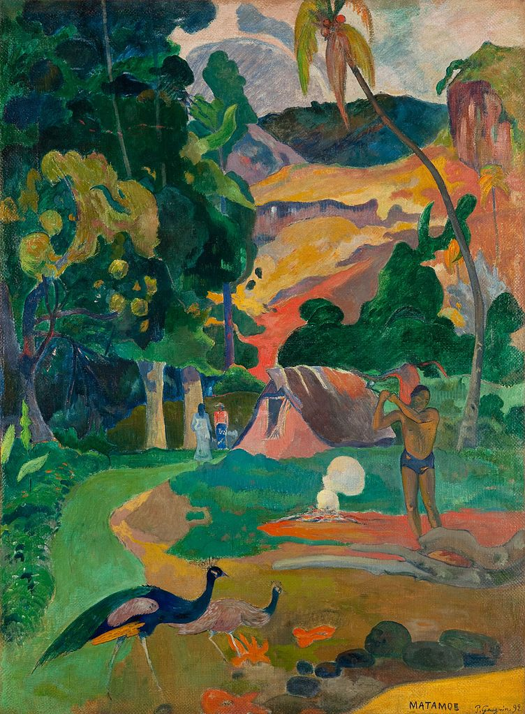 an introduction to the life and art of paul gauguin Paul gauguin  gauguin, who had no formal artistic training, led a peripatetic life , settling for extended  the museum of modern art archives, new york.