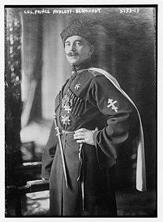 Pavel Bermondt-Avalov Cossack warlord