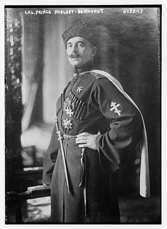 Pavel Bermondt-Avalov - Bermondt-Avalov circa 1920