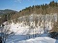 Paysage de neige à Bois Barbu (mars 2009) - panoramio - Eric Bajart.jpg