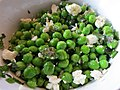Peas with mint and feta (9423960781).jpg