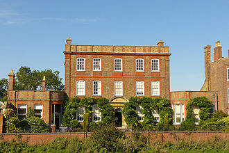 Wisbech - Peckover House on North Brink by the Nene in Wisbech