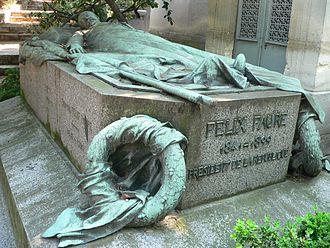 Félix Faure - Félix Faure's grave at Père Lachaise Cemetery