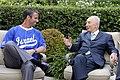 Peres met with Ausmus.jpg