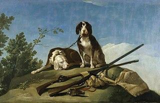 Chiens et outils de chasse
