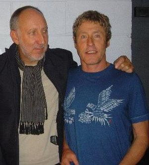 Roger Daltrey - Daltrey, right, with Pete Townshend, 2004