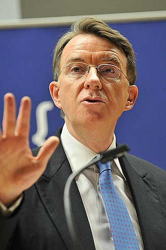Department for Business, Innovation and Skills - Image: Peter Mandelson at Politics of Climate Change 3