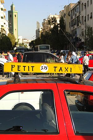 Petit Taxi (Regular Taxi) - Outside Train Station - Fez - Morocco.jpg