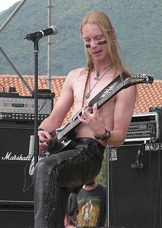 Petri Lindroos - Petri Lindroos performing at the Evolution Festival in 2006.