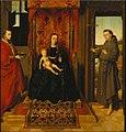 Petrus Christus (I) - Maria met kind, de HH. Hieronymus en Franciscus - 920 - Städel Museum.jpg