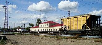 Petushki, Vladimir Oblast - Petushki railway station
