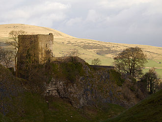 Peveril Castle - Image: Peveril Castle keep, 2009