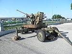Pezzo artiglieria surplus, Ferro Polesine Rovigo 08.JPG