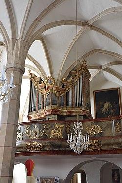 Pfarrkirche hl Jakobus Friedberg Interior 09.JPG