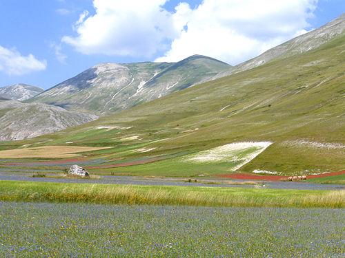 Piani di castelluccio wikimedia commons for Piani di piano rambler