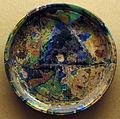 Piatto in vetro colorato, da pompei.JPG
