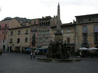 Tagliacozzo Comune in Abruzzo, Italy