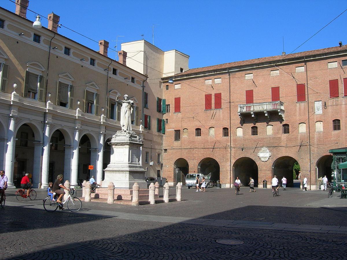 Piazza savonarola ferrara wikipedia for Piani di palazzo con piscina coperta