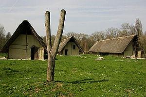 Gletterens - Aerchological stilt house museum