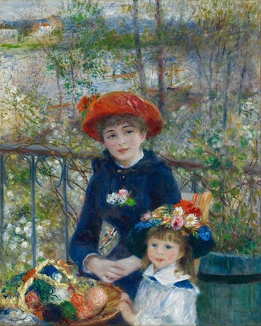 Pierre-Auguste Renoir - Two Sisters (On the Terrace)