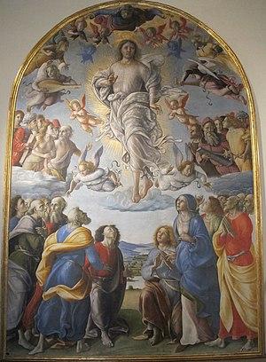 Pietro di Francesco degli Orioli - The Ascension, Chiesa dall'Osservanza, Siena
