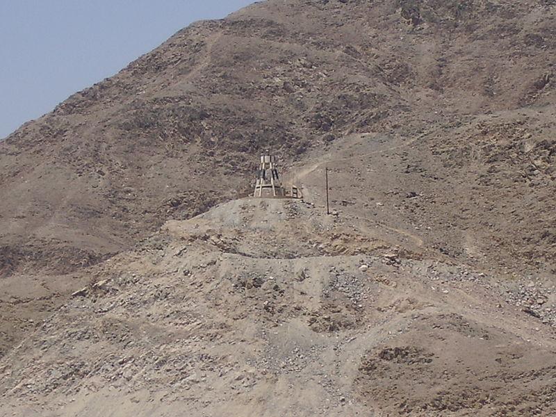 המגדלור במפרץ אילת