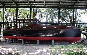 Finca Vigía - Image: Pilar (Ernest Hemingway's boat) Cuba